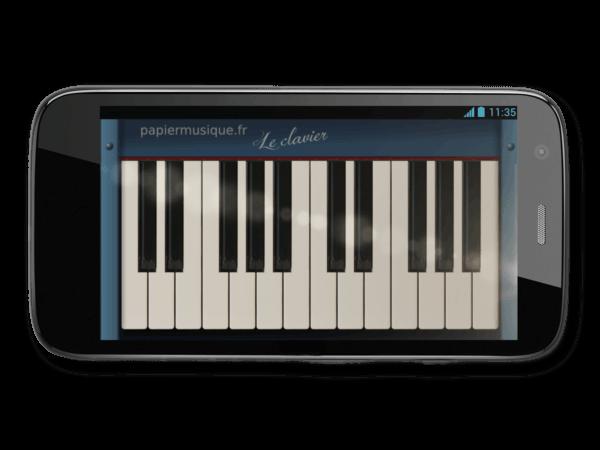 piano virtuel en ligne gratuit avec le clavier azerty. Black Bedroom Furniture Sets. Home Design Ideas